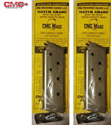 CHIP McCORMICK 1911 Officer .45 ACP 7 Round MAGAZINE 2-PACK Match 14121