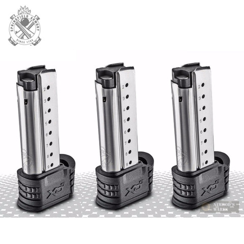 Springfield XD-S XDS 9mm 9 Round Magazine 3-PACK XDS09061