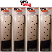 ProMag 1911 GOVERNMENT .45 ACP 10 Round MAGAZINE 4-PACK COL04N