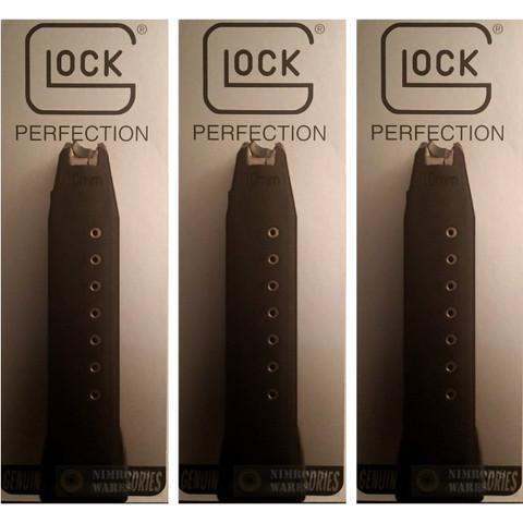 GLOCK 20 M20 G20 10mm 10 Round Magazine 3-PACK 10020 OEM