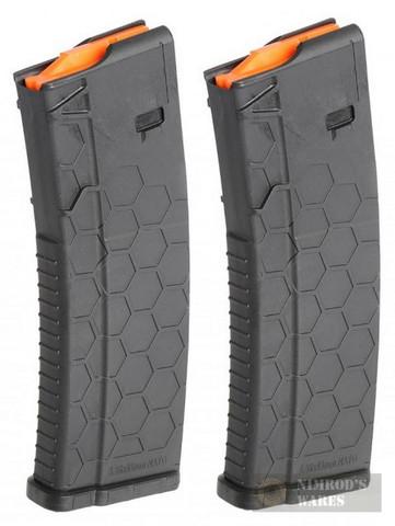 "HexMag AR-15 ""Series 2"" .223 5.56 10 Round Magazine 2-PACK HX1030-AR15S2-BLK"