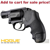 Hogue 60020 S&W J Frame Round Butt Bodyguard TAMER Rubber GRIP - Add to cart for sale price!