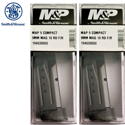 S&W 19463 M&P Compact 10Rd 9mm Magazine w/ Finger Rest