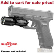 SureFire X300 *1000* LUMEN Ultra WeaponLight Handgun Rifle X300U-A - Add to cart for sale price!