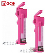 MACE Pepper SPRAY Self-Defense Personal Model 80347 80726 PINK 2-PACK