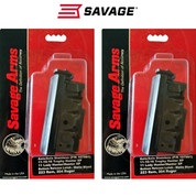 SAVAGE AXIS .223 4 Round Steel Magazine 55230 2-PACK