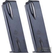 Mec-Gar BROWNING Hi-Power HP .40S&W 10 Round Magazine MGBR4010B 2-PACK