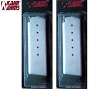 KAHR 45 ACP 6 Round MAGAZINE 2-PACK for Kahr 45ACP's except TP45 K625