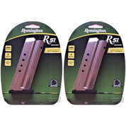 REMINGTON R51 9mm 7 Round Steel MAGAZINE 2-PACK 17696