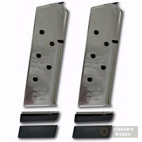 KIMBER KimPro 1911 .45ACP 7 Round Tac-Mag Full-Size Magazine 2-PACK 1100720A