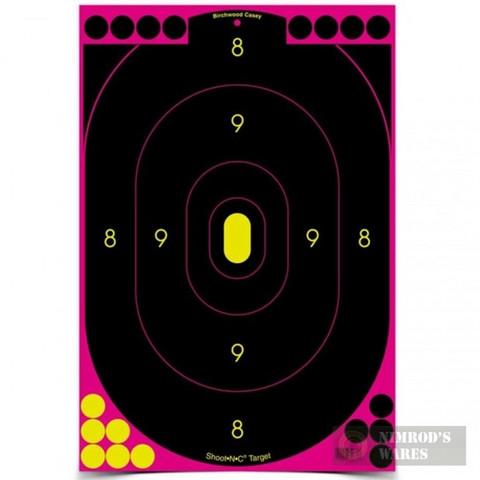"Birchwood Shoot•N•C Reactive TARGETS 12-pk 12""x18"" 34637"
