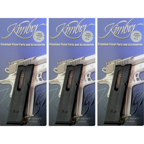 KIMBER 1911 22LR 10 Round Magazine 3-PACK Super Target Conversion 1100018A