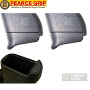 Glock 43 Pearce Grip SET: TWO Grip Extensions + Cavity Insert PG-43+1 & PG-FI42