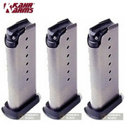 KAHR K820 9mm 7 Round Magazine 3-PACK Fits ALL 9mm Models (except T9/TP9)