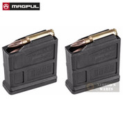 MAGPUL 7.62 x 51mm AICS Short Action 5 Round Magazine 2-PACK MAG549-BLK