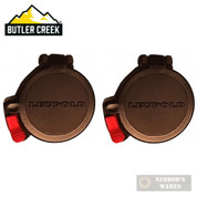 "Butler Creek LEUPOLD SCOPE Cover 2-PACK 11 Eye 1.550"" 39.4mm 99006715"