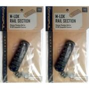 MAGPUL M-LOK Polymer Rail Section 7 Slots MAG591-BLK 2-PACK