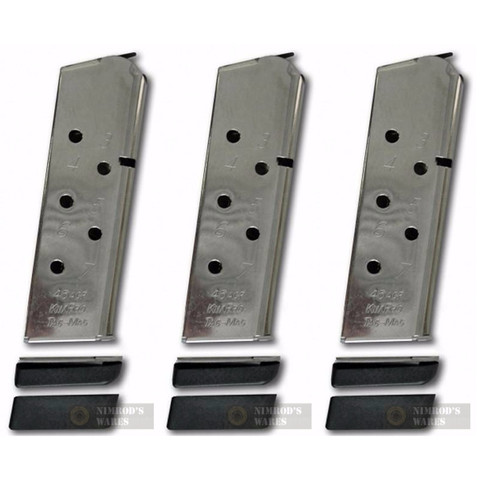 KIMBER 1100813A KimPro Tac-Mag Compact 45ACP 7Rd Magazine 3-PACK