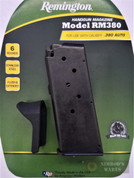 REMINGTON RM380 .380 ACP 6 Round Magazine w/ Extension 17679