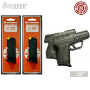 2-PACK Taurus PT-709 9mm 7Rd MAGS + Pearce Grip Extensions 5-10709 PG-709