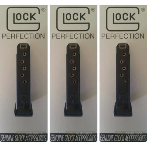 GLOCK 42 G42 .380 ACP 6 Round MAGAZINE 3-PACK 42006 OEM