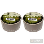 Tac Shield 100MPH Heavy Duty Tactical TAPE 10yds TAN 03985 2-PACK