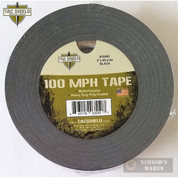 TAC SHIELD 100MPH Heavy Duty TACTICAL TAPE 60yds BLACK 03982