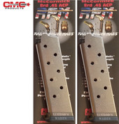 Chip McCormick 1911 .45 ACP 8 Round RAILED POWER MAGAZINE 2-PACK 17130