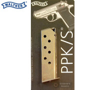 WALTHER PPK PPKS .380 ACP 7 Round Nickel MAGAZINE 2246011