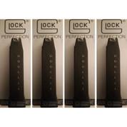 GLOCK 21 41 10-Round .45 ACP Magazine 4-PACK OEM 10021