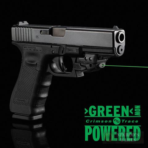 CRIMSON TRACE Rail Master GREEN Laser SIGHT Universal CMR-206