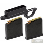 MAGPUL Hunter 700L Bolt Action Magazine WELL Magnum + 2 x 5Rd Mags MAG569-BLK MAG698-BLK