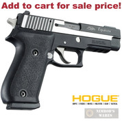 HOGUE Sig Sauer P220 American w/ Side Mag Release GRIP Rubber 20010 - Add to cart for sale price!