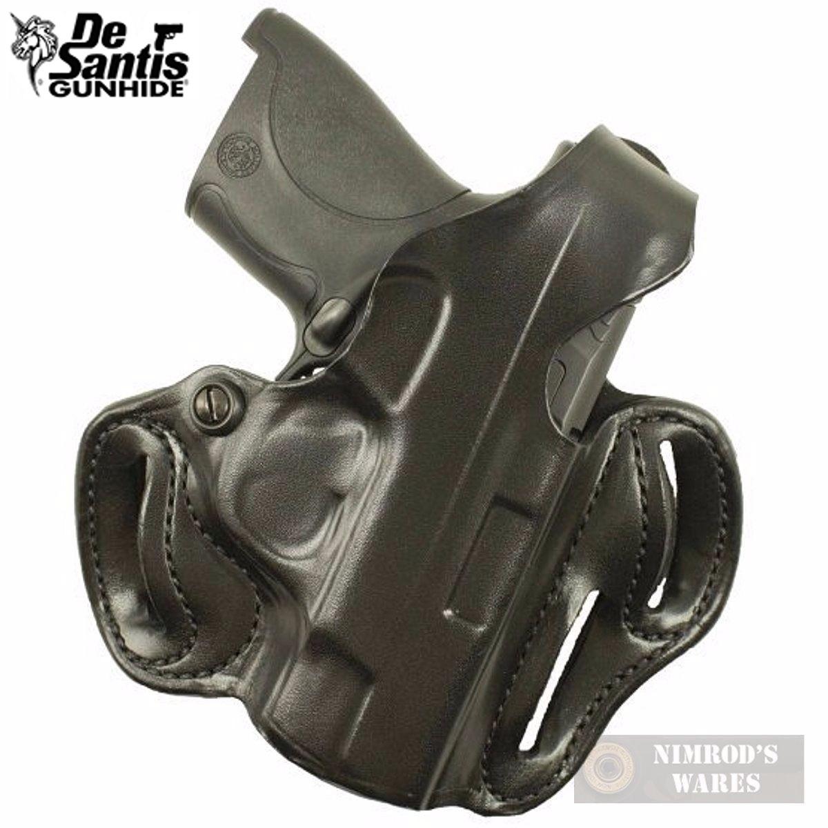 DeSantis S&W SHIELD Thumb Break Scabbard HOLSTER RH Black 001BAX7Z0