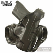 DeSantis S&W SHIELD Thumb Break Scabbard HOLSTER RH Black 001BAX7Z0