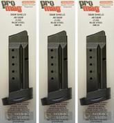 ProMag S&W Smith & Wesson M&P SHIELD .40SW 7 Round MAGAZINE SMI30 3-PACK