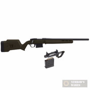 MAGPUL Hunter Remington 700 Short Action ODG STOCK + Magazine Well + Magazine