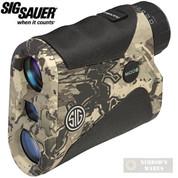 SIG Arms KILO1250 RANGEFINDER 6X20mm HyperScan CAMO SOK12602