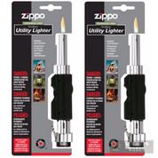 Zippo Outdoor Utility Lighter 2-PACK Chrome/Blk 121399