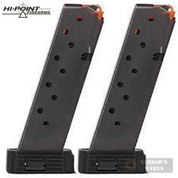 Hi-Point JCP 40 4095TS .40 S&W 10 Round MAGAZINE 2-PACK CLP40P