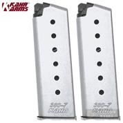 KAHR Arms CT380 P380 CW380 .380 ACP 7 Round MAGAZINE 2-PACK K387