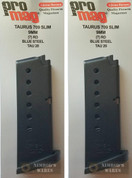 ProMag TAURUS 709 PT709 SLIM 9mm 7 Round MAGAZINE TAU20