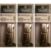 Smith & Wesson S&W SD9 SD9VE 9mm 10 Round Magazine 3-PACK 19926