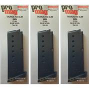 ProMag TAURUS 709 PT709 SLIM 9mm 7 Round MAGAZINE 3-PACK TAU20