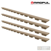 "MAGPUL M-LOK Rail Cover Type 1 FOUR (4) x 9.5"" Covers MAG602-FDE"