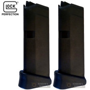 GLOCK 42 G42 Magazine w/ Finger Extension 2-PACK .380 6-Rounds 08822
