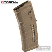 MAGPUL PMAG 30 AR/M4 Gen M3 5.56X45mm MAGAZINE (Window) Medium Coyote Tan MAG556-MCT