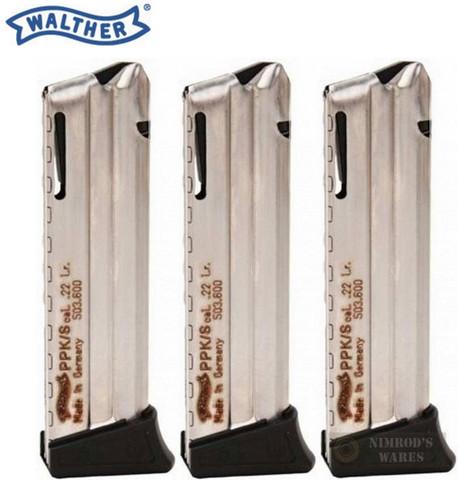 Walther PPK PPKS 22LR 10 Round MAGAZINE 503600