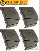 Pearce Grip GLOCK 20 21 29 40 41 +2 Grip Extension 4-PACK PG-1045+ PLUS