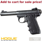 Hogue RUGER MK III 22/45 Rubber GRIP Finger Grooves 82080 - Add to cart for sale price!